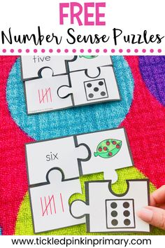 Teaching number sense in kindergarten and first grade classrooms can help students learn number relationships Subitizing Activities, Number Sense Activities, Number Sense Kindergarten, Beginning Of Kindergarten, Kindergarten Math Activities, Preschool, Maths, Teaching Numbers, Math Numbers