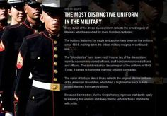 Uniform Elements and their meaning.Semper Fidelis