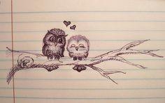 Love you mr owl! I love you too, mrs owl!