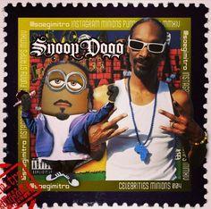 Celebrity Minions ~ Snoop Dogg
