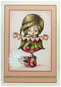 Tiddly Inks: New Release - Clear and Digital Stamps! Meet the Sweet Tooths and new Wryns!
