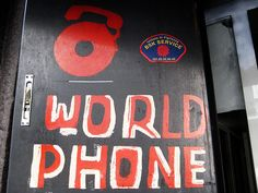 WORLD PHONE by Lukas834, via Flickr