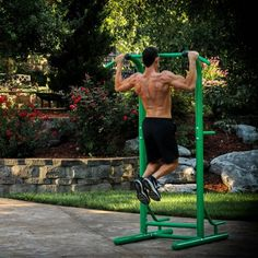Stamina Outdoor Fitness Power Tower | Hayneedle