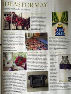 House Beautiful UK - May 2016 'Ideas for May'