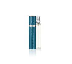vaporisateur rechargeable en veau Epsom Bleu de Galice