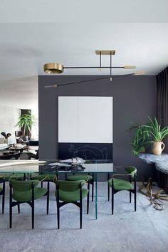 64 Contemporary Modern Dining Room Design Ideas to Makeover your - Contemporary Modern Kitchen, Small kitchen Design, Smart Kitchen Furniture Remodel, Diy - Designblaz Dining Room Inspiration, Interior Inspiration, Design Inspiration, Deco Cool, Dining Room Design, Dining Rooms, Dining Chairs, Room Chairs, Lounge Chairs