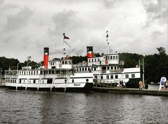 Two steamships side by side ~ Segwun and Wenonah II #muskoka #gravenhurst #lake #steamship #oldschool #historic #beautiful #old #history #canadian #ontario #water #onthewater #outonthewater #muskokalakes #canada #explore #discover #amazingplace