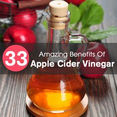 33 Amazing Benefits Of Apple Cider Vinegar For Skin, Hair And Health