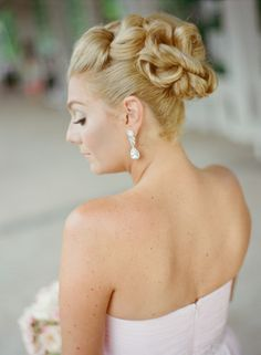 Bridesmaid Updo | photography by http://lisahesselphotography.com