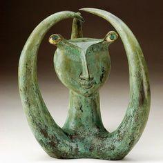 green - sculpture -  Jorge Vieira