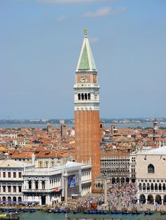 """Campanile, affectionately call """"Il Padrone"""" -- """"the boss"""" -- in Piazza San Marco"""