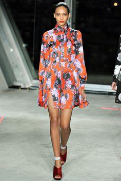 Jonathan Saunders Fall 2012 Ready-to-Wear Fashion Show - Cora Emmanuel