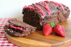 Chocolate and Strawberry Loaf