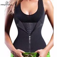 e039d60755f35 Hot Shapers Neoprene Sauna Sweat Vest Waist Trainer Waist Trainer Vest