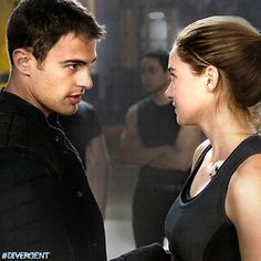 Divergent is the latest YA adaptation to get the movie treatment, and the film debuts this weekend, with Shailene Woodley and Theo James in the starring roles. Theo James, James 4, Tris Und Four, Tris And Tobias, Divergent Film, Divergent Insurgent Allegiant, Divergent Fandom, Tris Prior, Shailene Woodley