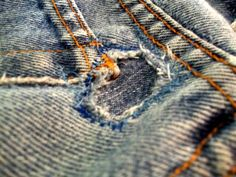 tutorial on patching jeans