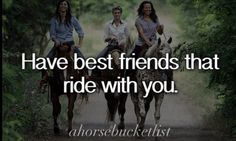 Oh how I wish. I want one person to want to ride with me everyday. Someone I can call and say let's go.