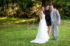 La #weddingplanner tra sposa e sposo! :)
