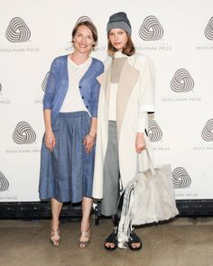 Woolmark and the Gang - Marcia Patmos of M. Patmos
