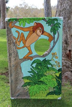 Cheerful Events Toss the Monkey a banana game Safari Animal Rescue party