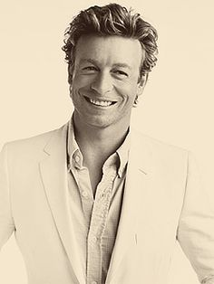 Simon Baker this guy is my old man crush. I love him dearly!