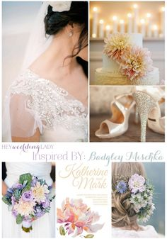 From The Runway To Aisle Violet Blush And Seaglass Wedding Inspiration Badgley Mischka
