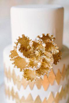 gold cake - Google Search
