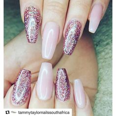 #Repost @tammytaylornailssouthafrica with @repostapp ・・・ Moreletapark - Done by Michelle  Stunning Cover Medium Dark Pink and Hidden Gem - Trending in the world right now and all over Instagram For More Pics like this- Visit our instagram on @tammytaylorn