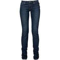 Skinny Leg Jean ($20) ❤ liked on Polyvore featuring jeans, pants, bottoms, calças, pantalones, women, mid-rise jeans, skinny leg jeans, mid rise skinny jeans and blue jeans