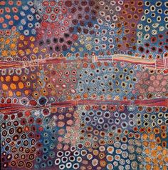 """Tjala Arts, Tjampawa Katie Kawiny, """"Seven Sisters"""""""