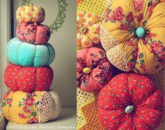 Beginner Fabric Pumpkin Tutorial | AllFreeHolidayCrafts.com