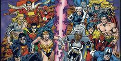 Weird Science DC Comics: DC Versus Marvel Comics #1 - Round One Review