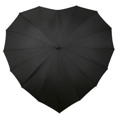 Heart Umbrella....comes i. Red, blue, and black. All would be appropriate for me!