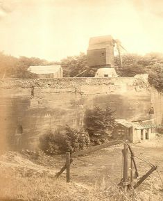 Woolton quarry, 1896. Liverpool History, New Brighton, Old Photos, Monument Valley, Lantern, 19th Century, Roots, How To Memorize Things, Magic