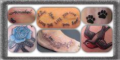 Diverse tattoo's