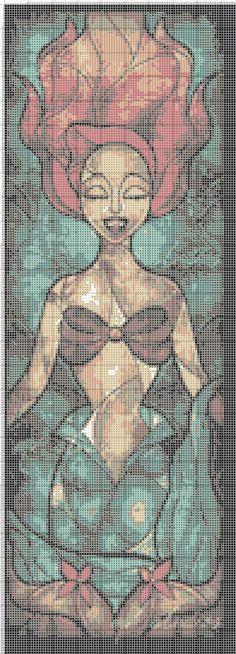 Ariel x-stitch