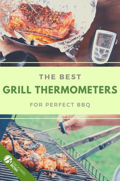 Some of these grill thermometers that we've reviewed include multiple probes-- up to 6-- so you can get wireless readings on all sorts of different meats cooking at the same time. It's the ultimate backyard boss tool-- you can monitor your meat from the pool deck! Grill Oven, Bbq Grill, Grilling, Bbq Thermometer, Types Of Meat, Cooking Temperatures, Best Bbq, Entertainment Ideas, Product Review
