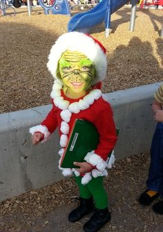 & Cool Homemade Grinch Who Stole Christmas Costume