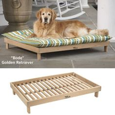 Outdoor Bed Frame - Dog Beds, Gates, Crates, Collars, Toys, Dog Clothing & Gifts