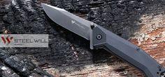 Steel Will Onrush 612 Taschenmesser mit rutschfestem G10-Griff