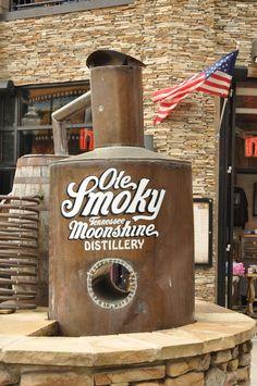 Ole Smoky Moonshine Distillery in Gatlinburg Tennessee