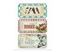 Placa Decorativa Home Happy - 30x39cm