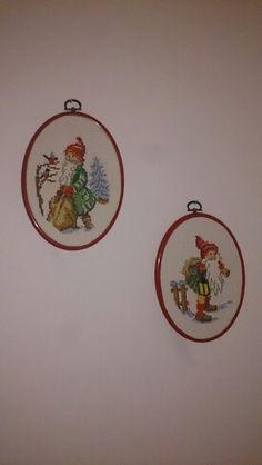 Jultavlor broderade av @annmariewallin