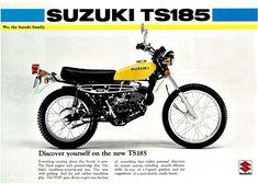 1976 Suzuki TS185A