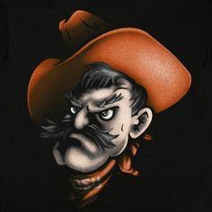 Oklahoma State Pistol Pete!!