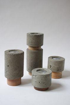 Concrete votives by filos