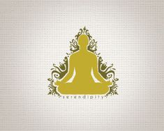 Serendipity Logo design - designed for a yoga and/or massage company. Great logo for yoga, meditation company. Also good for a clothing line. I am willing to customize the name. Price $300.00
