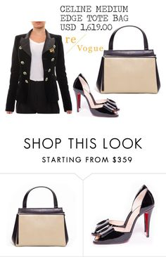 """""""SHOP - Re-Vogue"""" by re-vogue ❤ liked on Polyvore featuring Christian Louboutin and Balenciaga"""