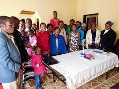 """Where are you bishop?"" Visiting the community at Mpaka #swaziland"