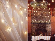 Lakeside New Hampshire Wedding - gorgeous lighting